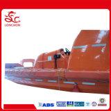 Tipo Incêndio-Fingido marinho bote de salvamento rígido com motor externo