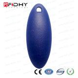 Os melhores Tk4100 de venda Waterproof os ABS RFID Keychain esperto