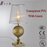 Lámpara de vector decorativa americana del hierro con la cortina de Guaze del Translucence