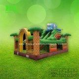 Dia van het Huis van het Kasteel van Funcity Bouncy van de draak de Opblaasbare Springende voor Jonge geitjes