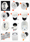 30 W à LED 100-240 V Indoor de preuve montrant la voie de plafond rond vers le bas la lumière