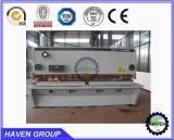 Máquina hidráulica do corte e de estaca da guilhotina do CNC da folha de metal
