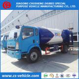 Sinotruk HOWO 4X2 6tons LPG Tanker Truck, Righthand Drive를 가진 12000L LPG Bobtail
