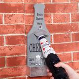 غطاء [أبنينغ دفيس] فتّاح زجاجة شكل زخرفة خشبيّة بيتيّة
