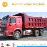 Sinotruk HOWO A7 371HPのダンプトラック6X4の10荷車引きのダンプトラック