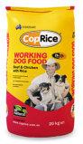 De plastic Flexibele Vlakke Verpakkende Zak van de Hondevoer van de Hoekplaat van de Bodem Werkende