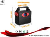 Geradores portáteis Solar Power Pack 40800Inversor mAh carregador de bateria de CPAP