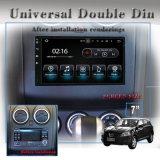 """防眩Carplay 7の""""車のWiFiの接続、3Gインターネットのためのユニバーサル倍DIN DVDプレイヤー、車のDVDプレイヤー"""