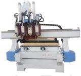 La gravure sur bois de la machine multi processus Multi Workstage ATC CNC routeur pour le mobilier, de porte, l'étage