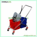 Un rayon Mop Wheelie nettoyage outil Combo essoreuse