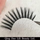 Lili-Schönheits-handgemachte Typen natürliche Silk freie Wimpern des Band-3D Wholesale Eigenmarken-das falsche Peitsche-Verpacken