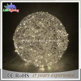 당 장식적인 LED 아크릴 공 크리스마스 끈 빛 공