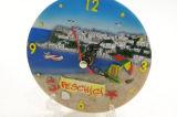 Paisaje de resina personalizado para el hogar Decoation reloj
