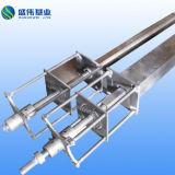 Perfil de PRFV Pultrusion pressão hidráulica da máquina e molde