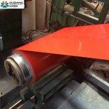 El color de alta calidad PPGI bobinas de acero recubierto de material de construcción