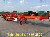 2台の車軸鋼鉄骨組み容器のシャーシ/半トレーラー