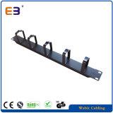 Ring-Kabel-Management des Metall5/Zahnstangen-Montierungs-horizontaler Manager