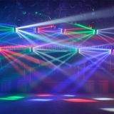 Träger-Disco-Verein-bewegliches Hauptlicht des Armkreuz-8X10W RGBW