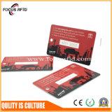 Tamanho Cusom e logotipo do Protocolo18092 ISO NFC CARTÃO RFID MIFARE Ultralight C/Ntag215
