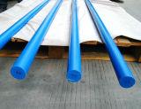 Nylon Staaf, PA6 Staaf, Nylon Staven, PA6 Staven met Blauwe Kleur