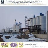 2000t en acier galvanisé de ciment silo de cendres volantes Kazakhstan Projet