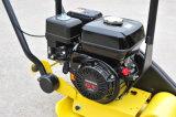 Compressor da placa com roda do transporte e esteira da borracha para a venda