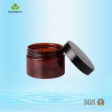 120ml machen helles Oberflächenkosmetisches Plastikglas für Gesichtssahne glatt