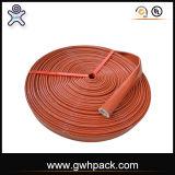 Hochtemperaturwiderstand-Silikon-Gummi-überzogene Fiberglas-Isolierungs-feuerfeste Hülse für hydraulischen Schlauch