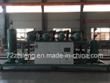 Shandong 72 graus de unidade Semi-Hermetic do compressor para o quarto frio do gelo
