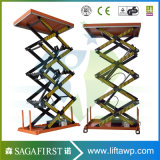Supplier Offers Stationary Warehouse Scissor Lift clouded