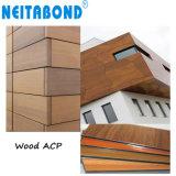 15 ans à fournisseur de sandwich en bois de panneau composé en aluminium d'ACP pour la décoration de mur
