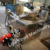 Prix de bonne qualité de l'arachide en remuant la friture Machine automatique