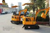 Mini excavador de China para la venta 0.8 toneladas con el certificado del Ce