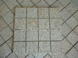 Bancada do granito G682 do ouro do por do sol/telha chinesa/telha de pedra