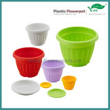 カラープラスチック植木鉢(KD2000N-KD2013N)