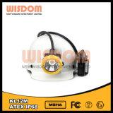 RoHS aprovou a lâmpada de tampão do mineiro/farol Kl12m da mineração com Ce