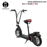 Wellsmove New Design Lightweight Personal Transportation Vehicle Folding Electric Scooter Mobility 350W
