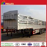 Reboque Semi de serviço público da estaca/cerca para o transporte de carga