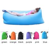 Pocket、Traveling CampingのためのDifferent ColorsのLaybag Customizedのたまり場Inflatable Air Bag Sofa