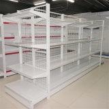 Estante de visualización del almacén de la estantería del supermercado del acero frío del acoplamiento de alambre