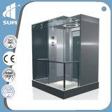 سرعة [1.0م/س] آلة غرفة [ستينلسّ ستيل] & مصعد زجاجيّة شامل رؤية
