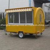 Caminhão móvel do alimento da bicicleta do carro do alimento para a venda Jy-B40