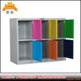 多彩な家具の小さい金属6のドアの学校のロッカー