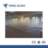 3-12мм кислоты выбиты стекла / матового стекла / стекло / Sandblasted без считывателя отпечатков пальцев из стекла