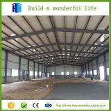 Desenhos claros pré-fabricados das barracas do armazém da estrutura do frame de aço da construção