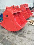 掘削機の対面溝を堀るバケツの土工の機械装置部品
