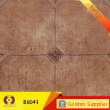 Azulejo de suelo de cerámica de la venta de construcción de la porcelana rústica caliente del material (6P003)