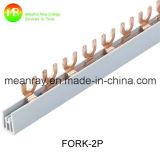 U datilografa à barra de cobre Busba de cobre elétrico 1.4*7mm