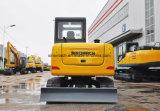 Sinomach 0,22 m3 de la construction d'équipements d'ingénierie de la machine 6 tonnes mini-excavatrice chenillée hydraulique