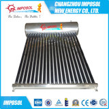 Venta al por mayor en la azotea pipa de calor del calentador de agua solar Unpressure